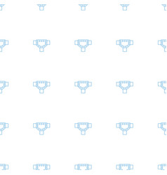 Road icon pattern seamless white background vector