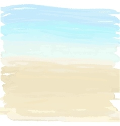 Sand and ocean vector