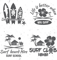Set of retro vintage badges and labels For web vector