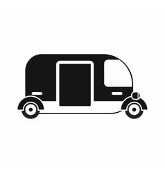 Thailand three wheel native taxi icon vector image