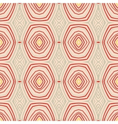 Retro pattern with oval shapes in 1950s style vector image vector image
