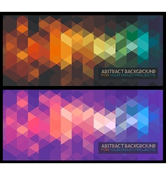 Disco club flyer template with retro hipster style vector image