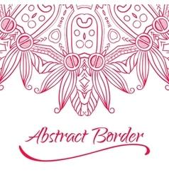 Abstract Hand-drawn Mandala-05 vector