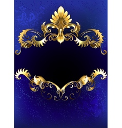 Blue Luxury Banner vector