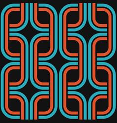 retro pop seamless pattern vector image