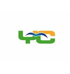 YC logo vector