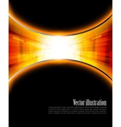 Bright orange background vector