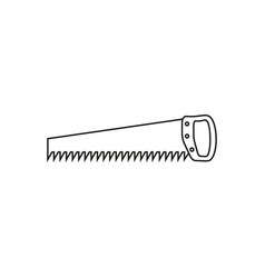 saw online icon vector image