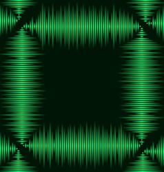 Waveform frame vector image