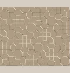 3d brown brick pathway pattern vector