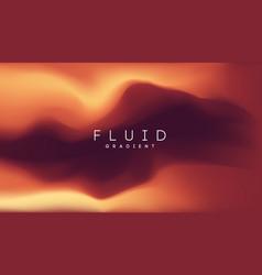 Brown orange gradient background fluid gradient vector