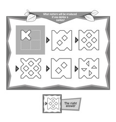 Coloring book napkins 6 vector