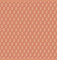 decorative geometric line mash seamless pattern vector image