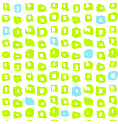 Funky square seamless pattern vector