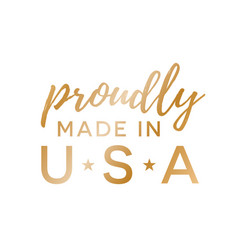 Made in usa icon background vector