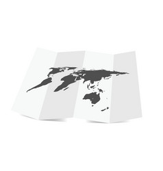 map of planet earth vector image