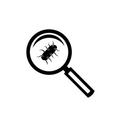 salmonella test icon vector image