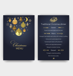 sketch christmas party vector image