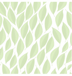 White seamless texture with light-green vector