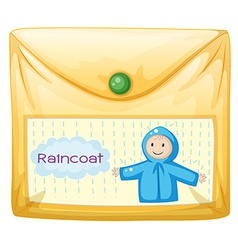 A plastic envelope vector