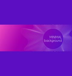 Abstract minimal purple gradient background vector
