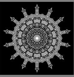 Ornamental line pattern decorative texture vector