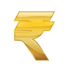 Rupee money financial item economy icon vector
