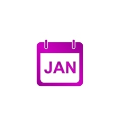 Simple Calendar Modern design flat style icon vector
