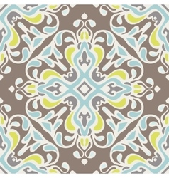 Abstract seamless ornamental pattern tiles vector image