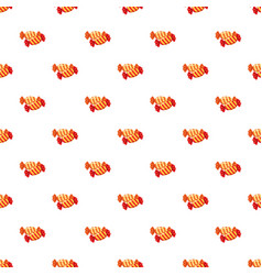 Colorful candies pattern vector
