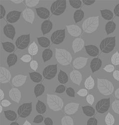Leaf pattern background vector image