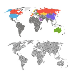 Maps vector