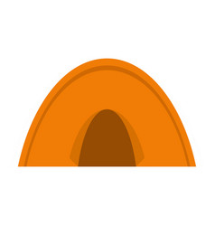 Tent icon isolated vector