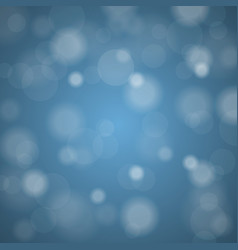 Abstract blurred background of sky blue shiny vector