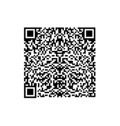 barcode or qr code isolated on a background vector image