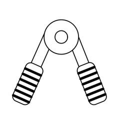 Gym accessories sport vector
