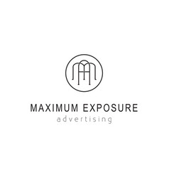 Maximum exposure advertising vector