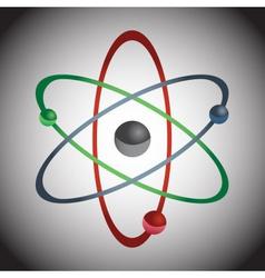 Simple color atom model eps10 vector