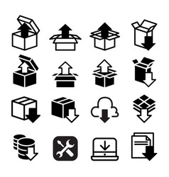 Software application setup configuration vector