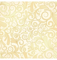 Seamless background of gold vector image vector image