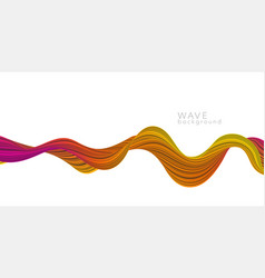 abstract background with color vector image