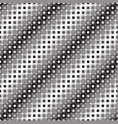 abstract seamless pattern of monochrome squares vector image