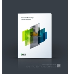 Brochure template layout cover design annual vector