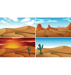Deserts vector