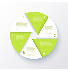 elements for infographics template a vector image