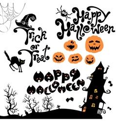 Halloween calligr 380 vector