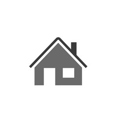 home icon house icon estate icon minimalist style vector image