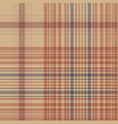 Retro check plaid seamless pattern vector