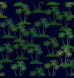 Tropical palms seamless vector
