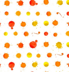Watercolor Splashes Pattern vector image